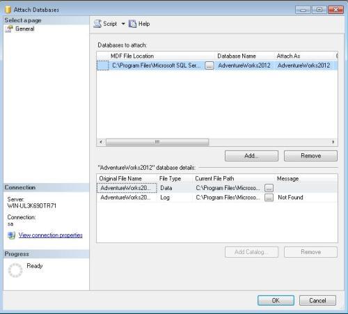 sql server 2008 adventureworks sample database download
