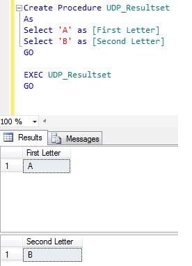 exec resultset1.1