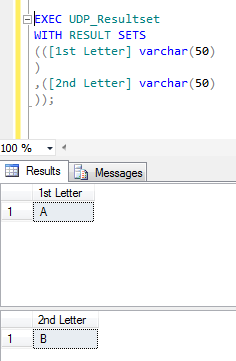 exec resultset1.3