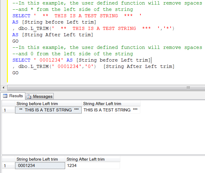Sql Server Trim How To Remove Leading And Trailing Characters