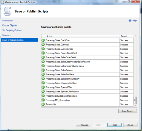 Restore SQL Server 2012 backup on earlier versions.1.10