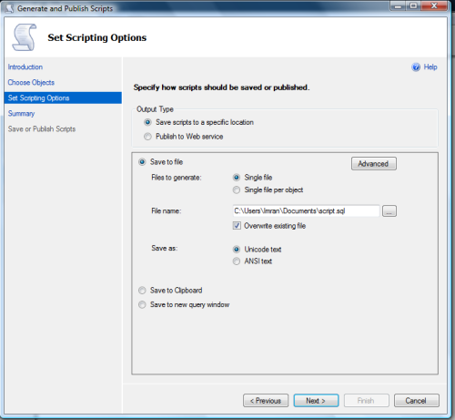 Restore SQL Server 2012 backup on earlier versions.1.4