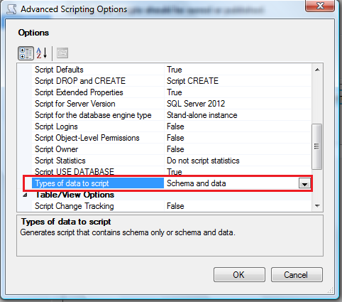 Restore SQL Server 2012 backup on earlier versions.1.6-1