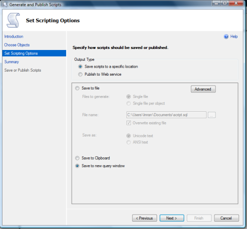 Restore SQL Server 2012 backup on earlier versions.1.7