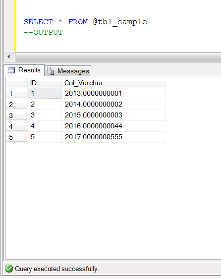 SQL SERVER - How to remove leading zeros after a decimal point (1/3)