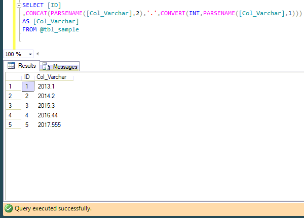 SQL SERVER - How to remove leading zeros after a decimal point (2/3)