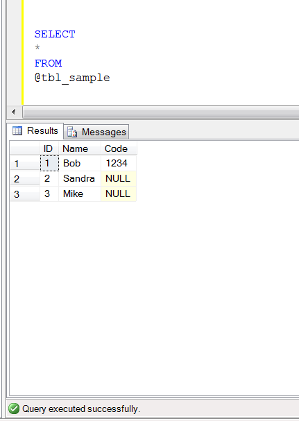 SQL SERVER - How to return '0' instead of NULL in a query resultset (1/4)
