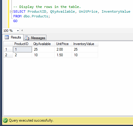 Sql server how to alter an existing computed column in a - Alter table add column not null ...
