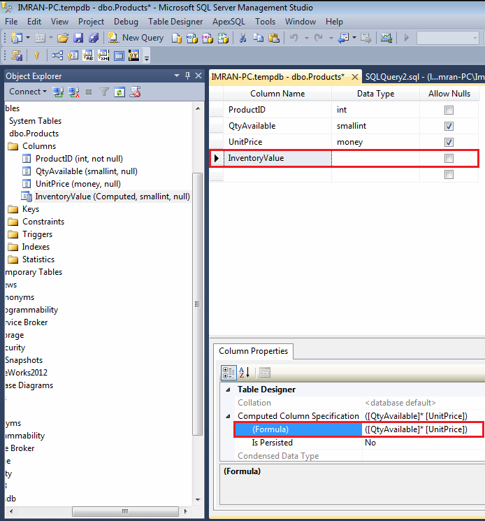 Sql alter table change column ms sql server change - Alter table change column type ...