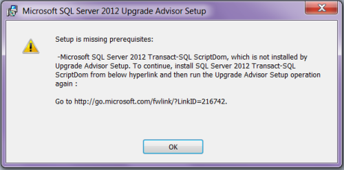SQL Upgrade Advisor Setup.1.1