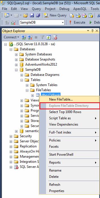 Explore FileTable Directory.1.1