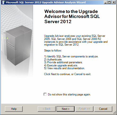 SQL SERVER - Upgrading to SQL Server 2012 from SQL 2005/2008 - Part 1 (4/6)