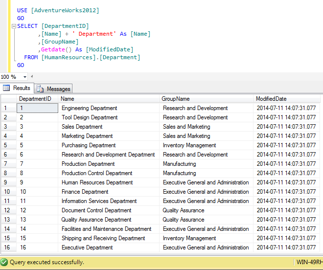 Use IF statement within update statement in SQL