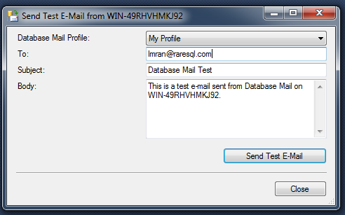 SQL Server Mail.1.12