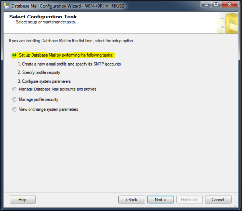 SQL Server Mail.1.2