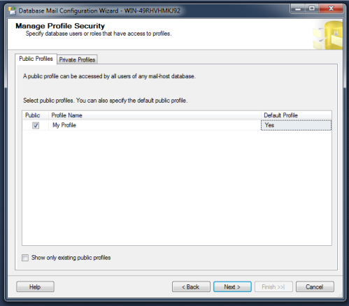 SQL Server Mail.1.7