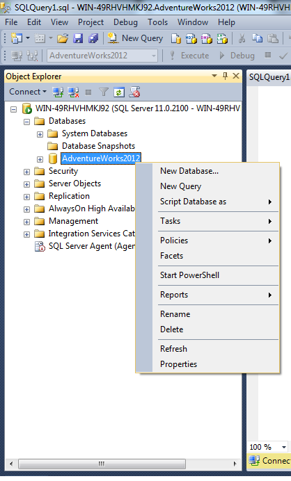 Disk usage by top tables sql server portal - How to find a table in sql server management studio ...