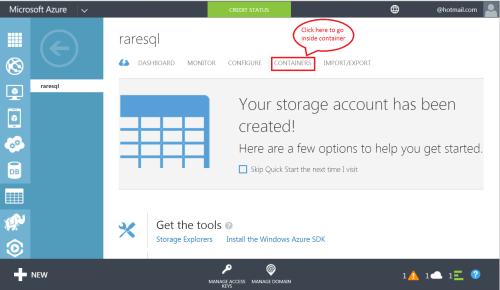 Azure Storage 1.5.1