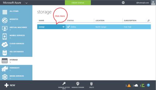 Azure Storage 1.5