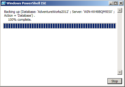 How to take backup to URL (Windows Azure Storage) - PowerShell1.3