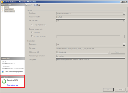 SQL Server Back to Azure using SSMS.1.7