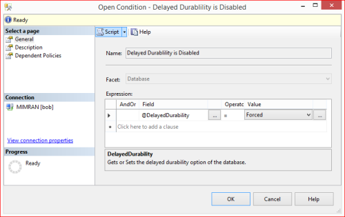PBM - Delayed Durability 1.2