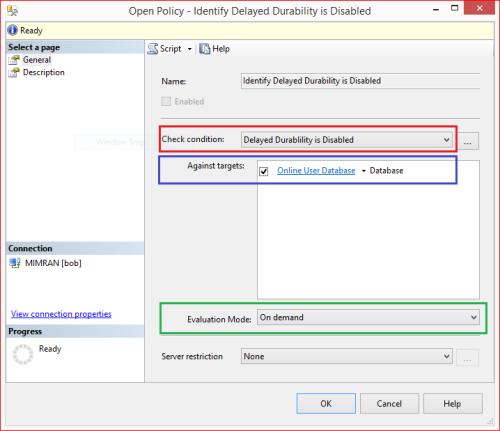 PBM - Delayed Durability 1.6