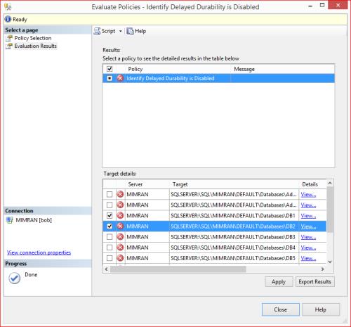 PBM - Delayed Durability 1.8