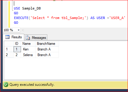 SQL SERVER 2016 - Row Level Security (RLS) (6/6)